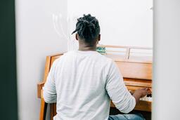Man Playing Piano  image 3