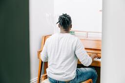 Man Playing Piano  image 6
