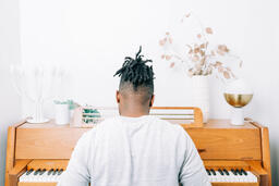 Man Playing Piano  image 2
