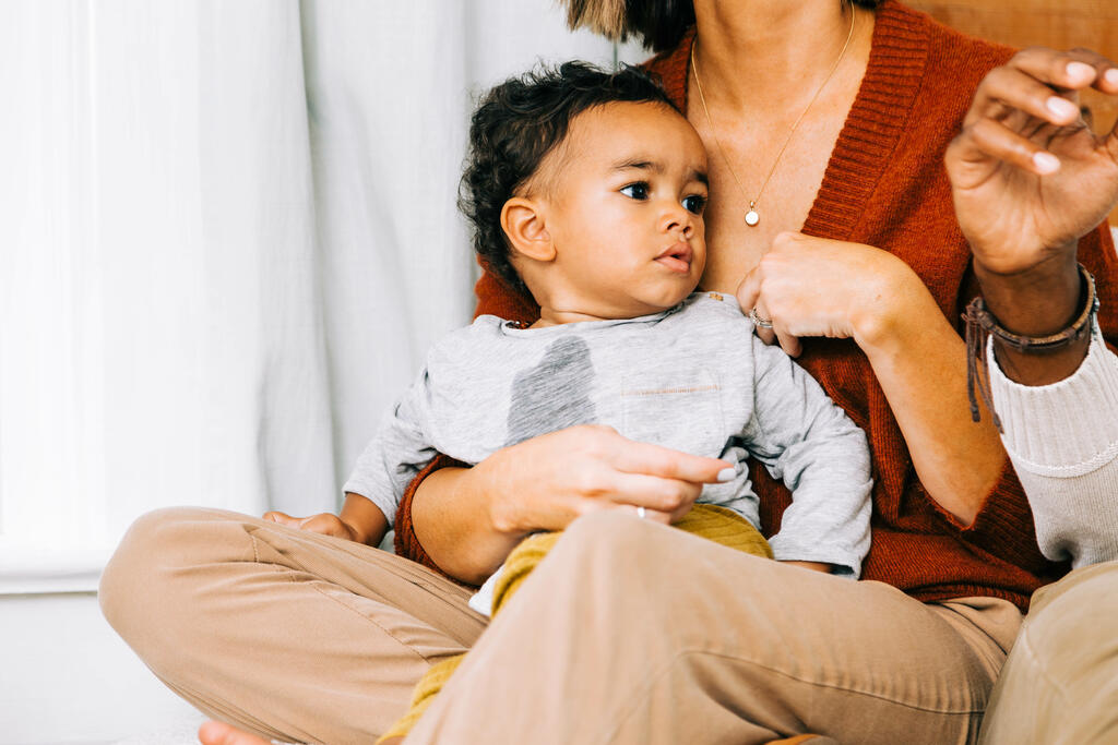 Baby on Mother's Lap during Small Group large preview