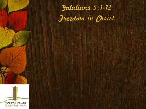 Galatians 5:1-12