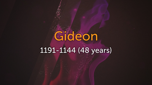 Gideon - 6/12/2016