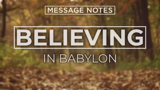 Believing In Babylon