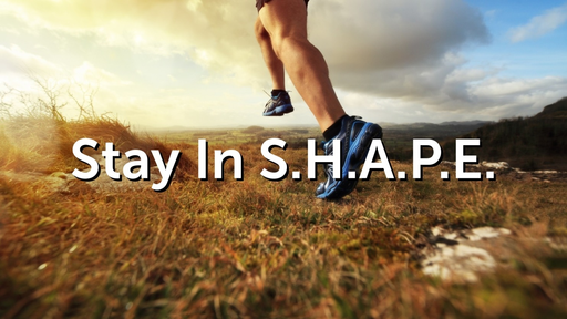"""2019-10-13 Stay in S.H.A.P.E.: """"Walking in the Spirit"""" - Part 1 - James Miller, Jr"""