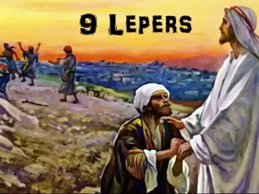 10-13-19 - AP 18 - Nine Lepers