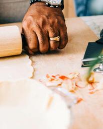 Man Baking Apple Pie  image 3