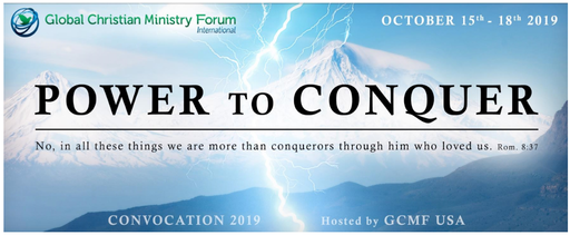 "GCMF Convocation 2019 - ""Power to Conquer"""