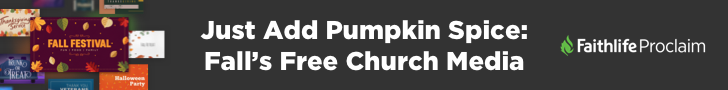 Just Add Pumpkin Spice: Fall's Free Church Media