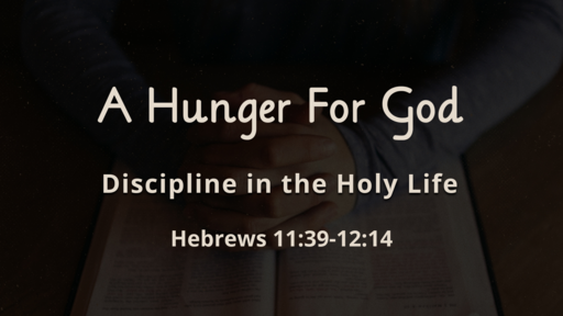 Discipline in the Holy Life