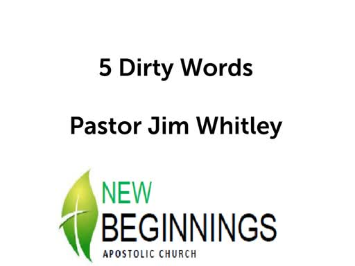 5 Dirty Words