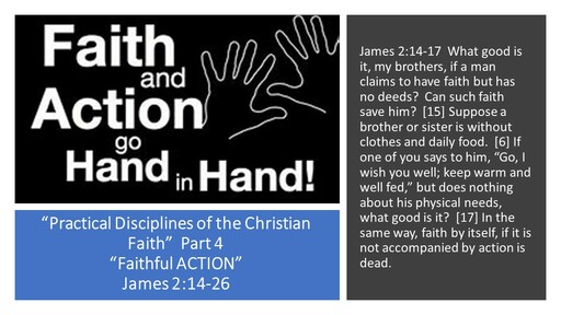 Practical Discipline of the Christian Faith...Part 4