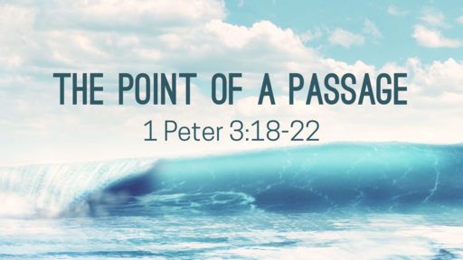 The Point of a Passage