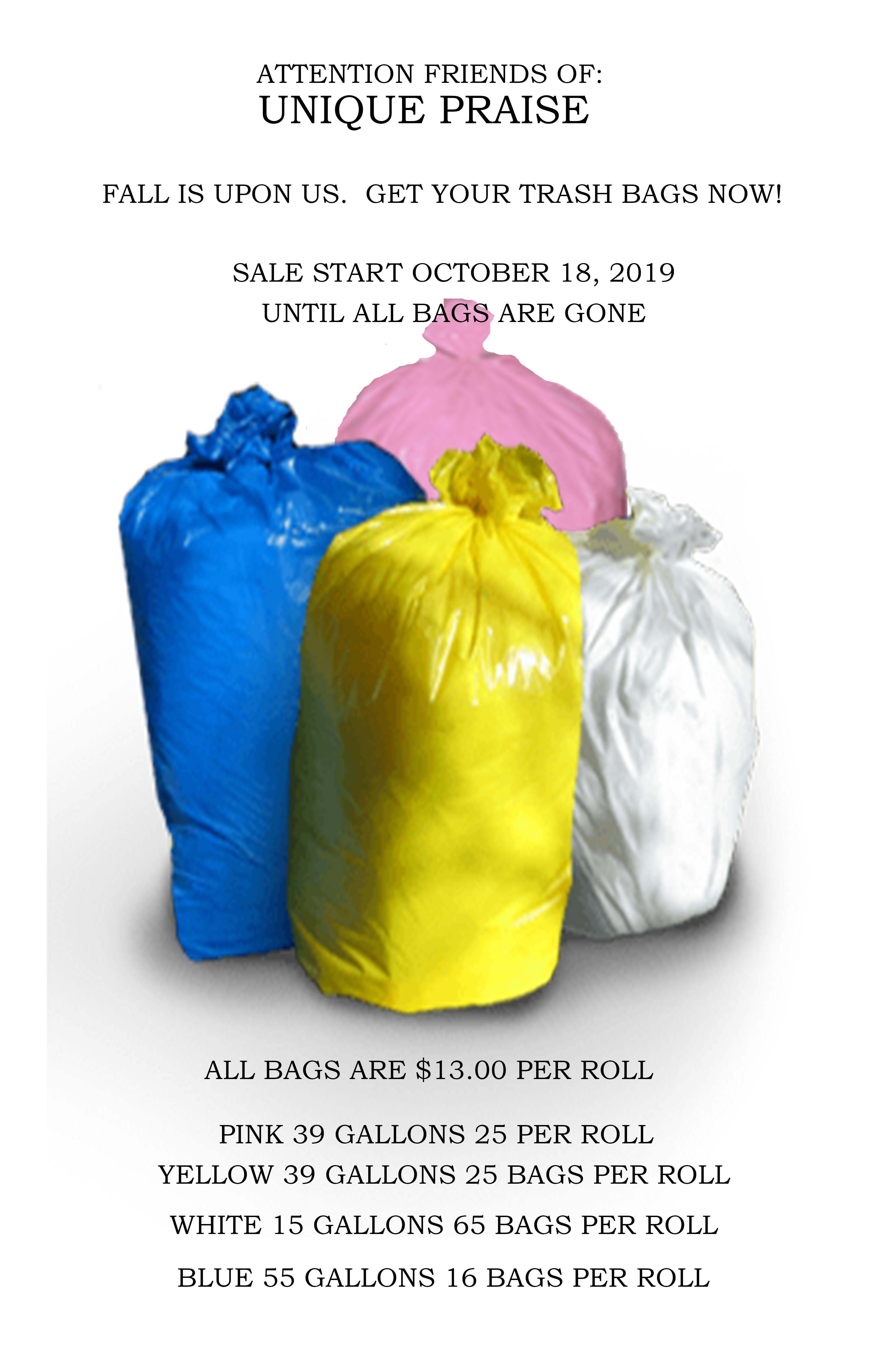 Trash Bag Poster