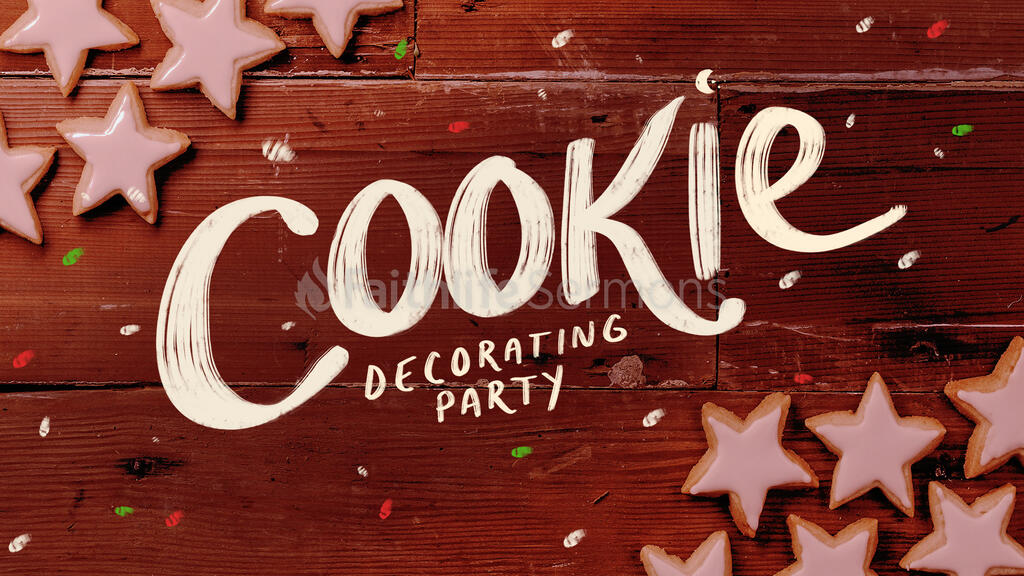 Cookie Decorating Wood large preview