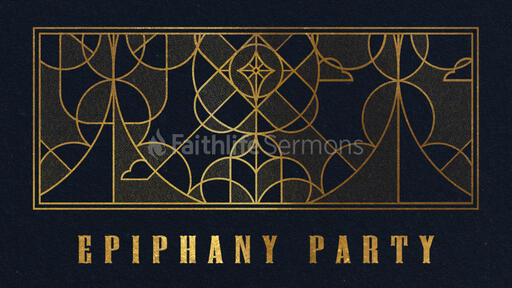 Epiphany Party Gold