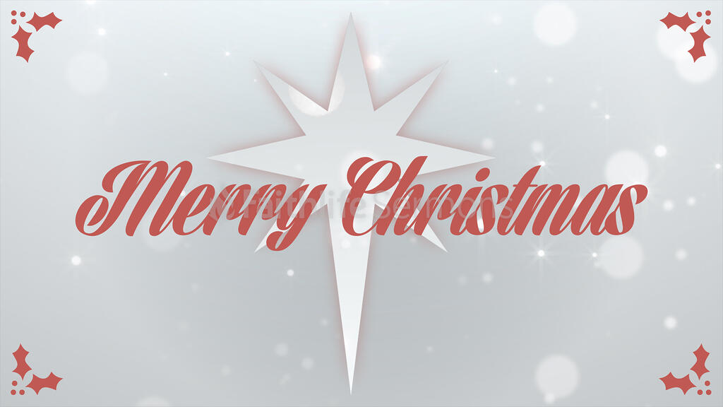 Merry Christmas Star large preview