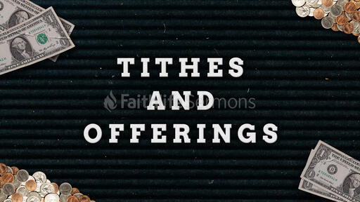 Tithes And Offering Cash