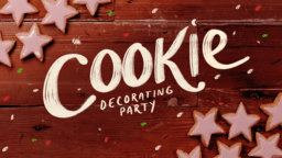 Cookie Decorating Wood  PowerPoint Photoshop image 1