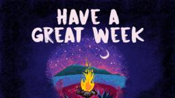 Purple Campfire  PowerPoint Photoshop image 5