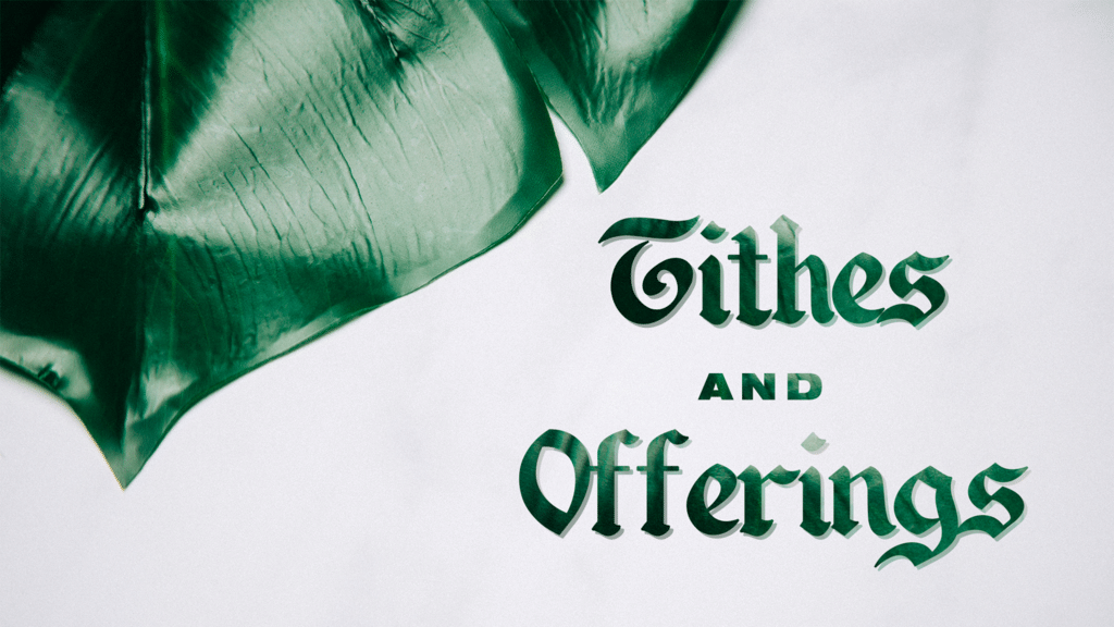 Tithes And Offering Plant large preview