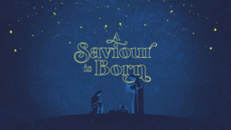 A Saviour Is Born  PowerPoint Photoshop image 1