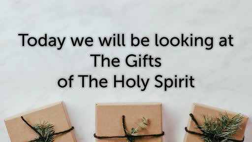 13.10.19 - The Gifts of the Holy Spirit - Stephen Holt
