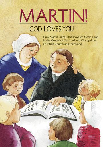 Martin! God Loves You