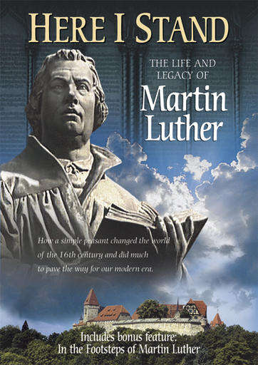 Here I Stand - Martin Luther