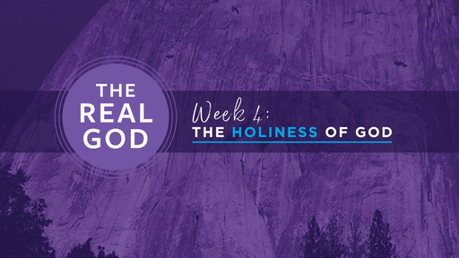 #4 The Holiness of God