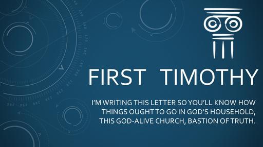 I Tim. 1:8-11 09/22/19