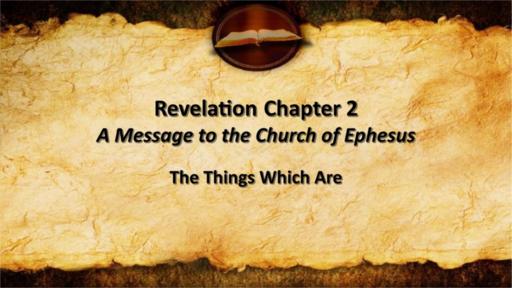 Revelation Chapters 1-3