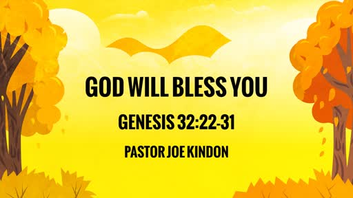 God will bless you!