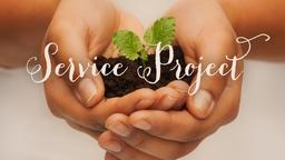 Service Project 16x9 PowerPoint Photoshop image