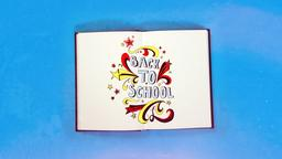 Back to School 16x9 PowerPoint Photoshop image