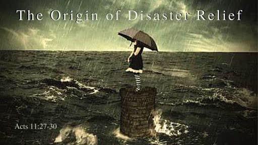 Oct 20th, 2019: Origins of Disaster Releif