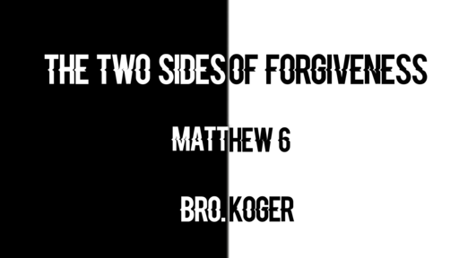The Two Sides Of Forgiveness