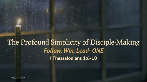 The Profound Simplicity of Disciple-Making