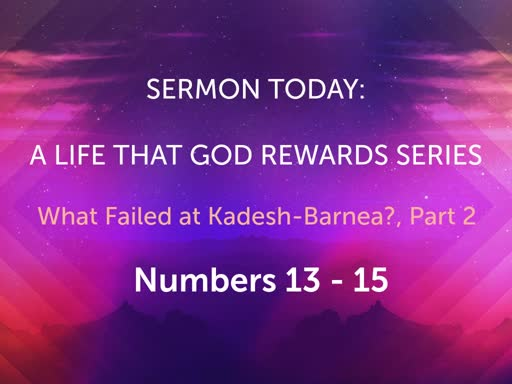October Sunday Worship- A Life That God Rewards Series