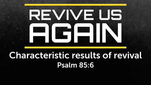Characteristic results of revival