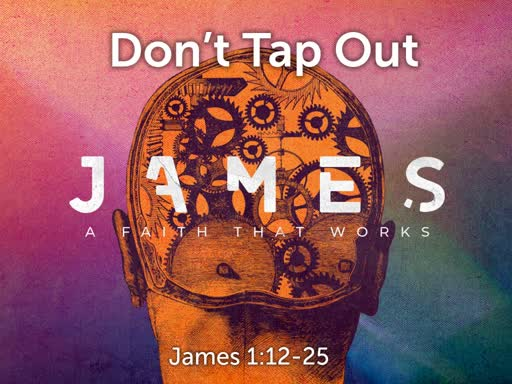 James: Don't Tap Out