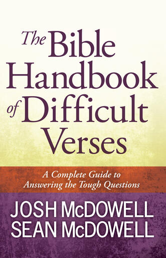 Bible Handbook Cover