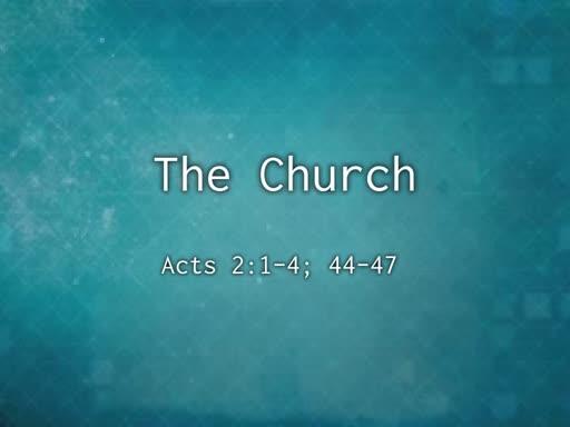 October 20, 2019 - The Church