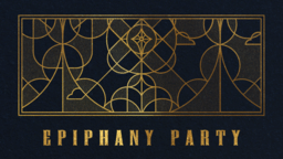 Epiphany Party Gold  PowerPoint Photoshop image 1