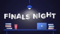 Finals Night  PowerPoint Photoshop image 1