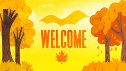 Hello Autumn  PowerPoint Photoshop image 1
