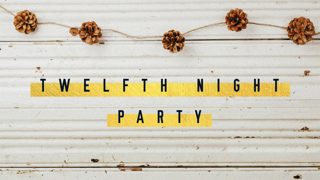 Twelfth Night Party Pinecone large preview