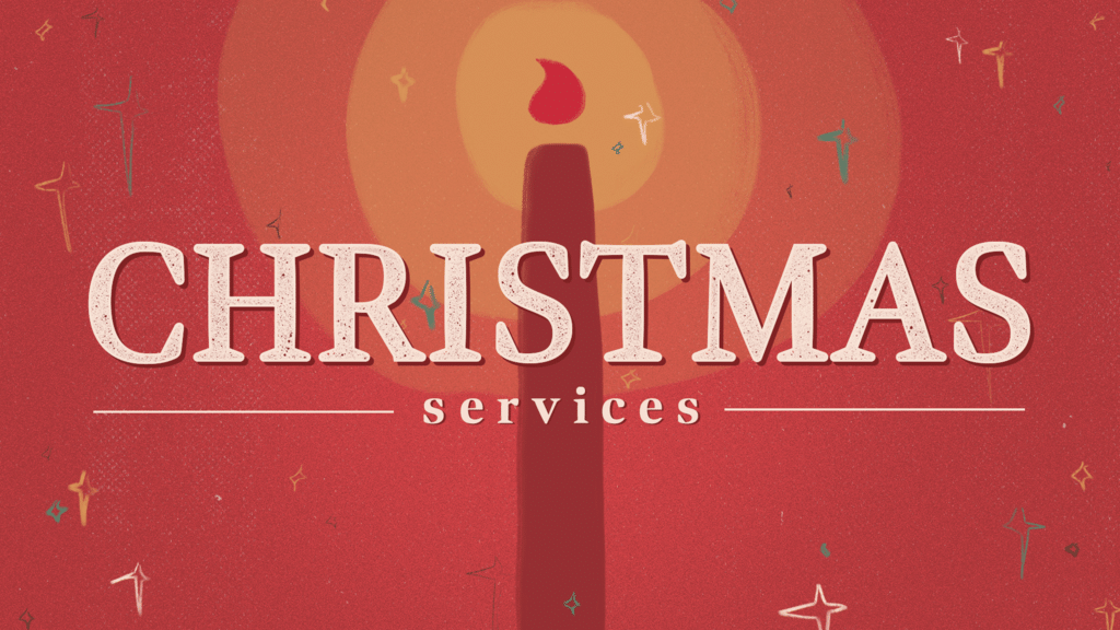 Christmas Services Red Candle large preview