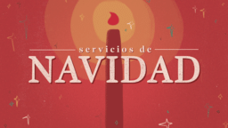 Christmas Services Red Candle  PowerPoint image 3