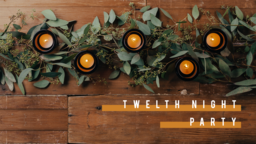Twelfth Night Party Candle  PowerPoint Photoshop image 1