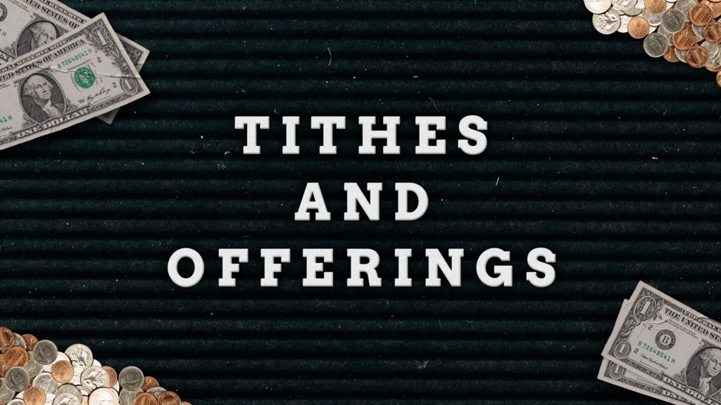 Tithes And Offering Cash large preview